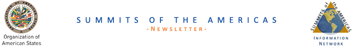 Summits of the Americas Newsletter
