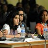 Activities with civil society organizations and other social actors in the General Assembly